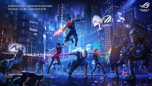 ROG Uprising Startscreen For PES 2017-2019