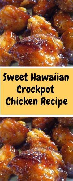 SWEET HAWAIIAN CROCKPOT CHICKEN RECIPE