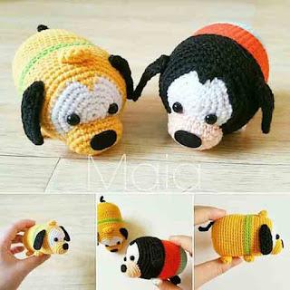 PATTERN: Ariel Tsum Tsum Crochet Amigurumi Doll by epickawaii ... | 320x320