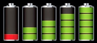 indikator baterai