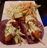 Lobster tacos at Brigantine