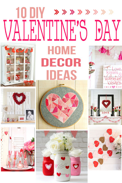 PINK, red and white ideas for valentines