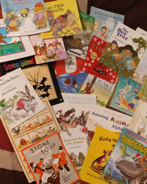 children's books part of My Father's World God's Creation from A to Z Deluxe Kit