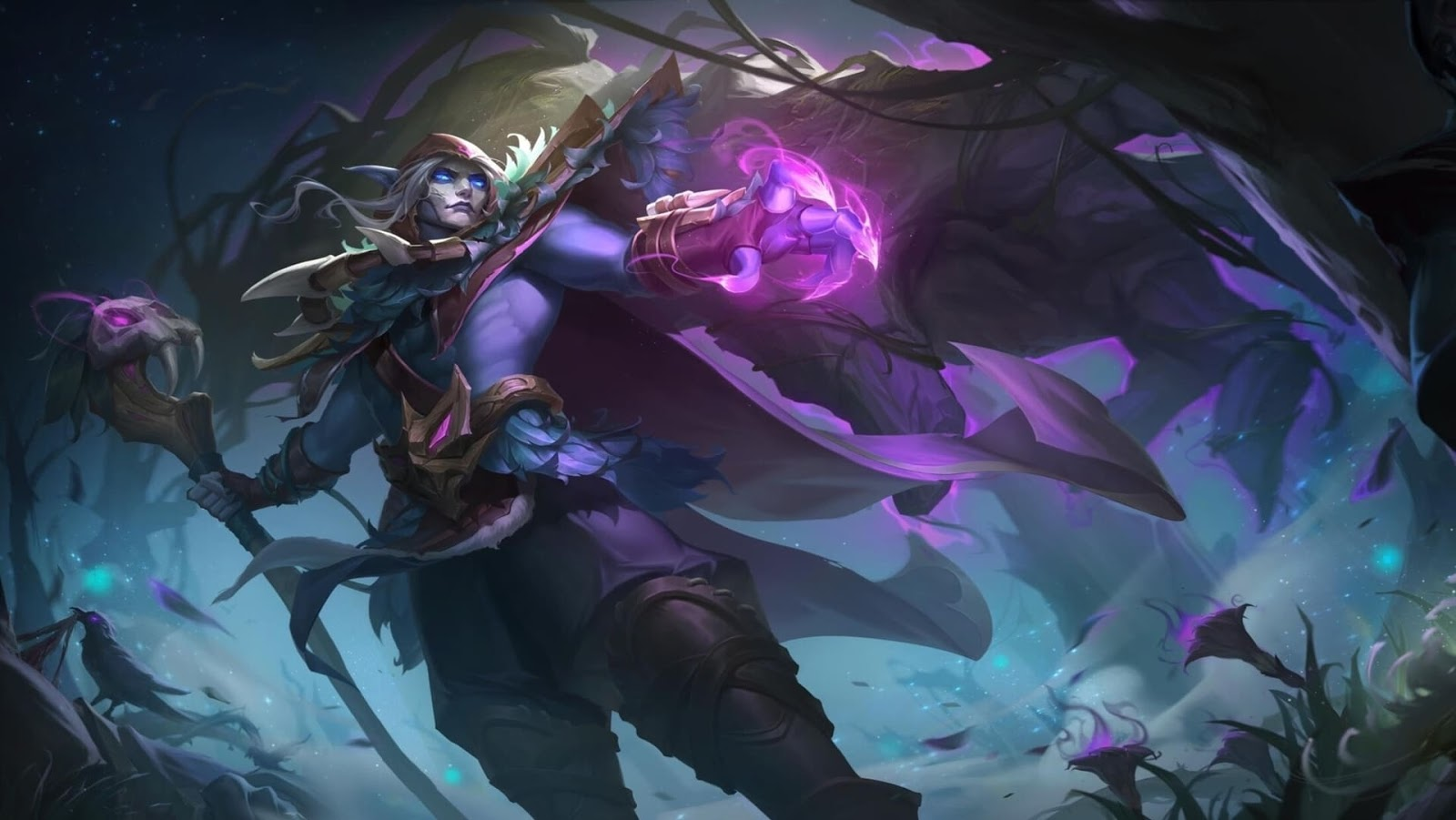 Wallpaper Faramis Ivy Feathers Skin Mobile Legends HD for PC