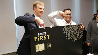 "Paytm Launches First Credit Card ""Paytm First Card"""