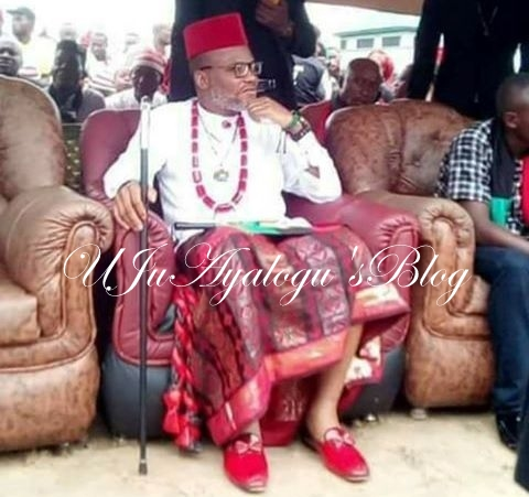 Kanu Slams Osinbajo , says his view on Biafra agitation faulty, misconceived