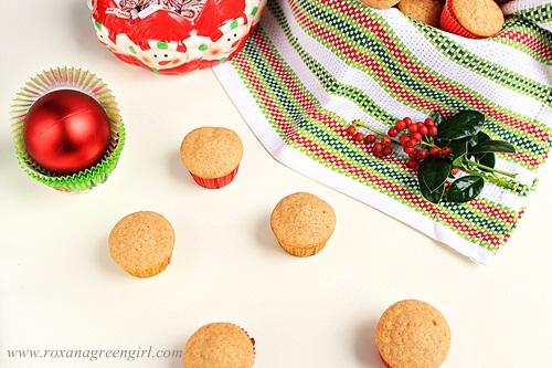 Ginger Muffins | Roxanashomebaking.com