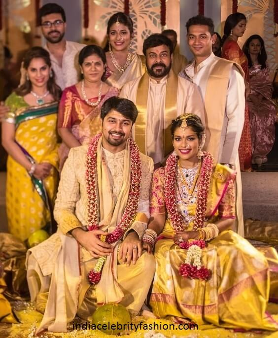 Chiranjeevi Daughter Sreeja Wedding Photos