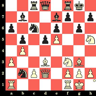 Les Blancs jouent et matent en 4 coups - Julio Kaplan vs D Calderon, Skopje, 1972