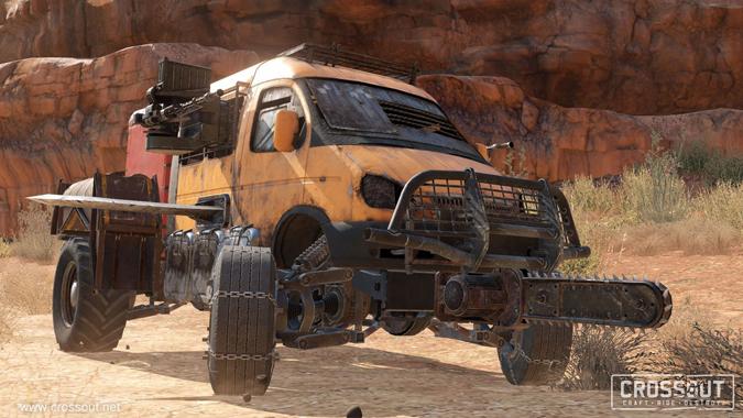 Crossout, MMO Pertempuran Kendaraan Pasca Apokalips!