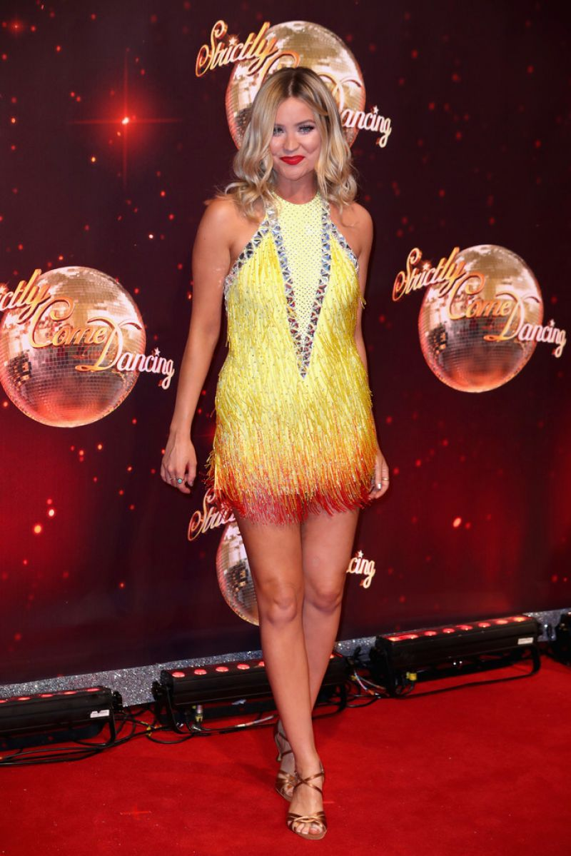 Laura Whitmore At Strictly Come Dancing 2016 Launch In Borehamwood