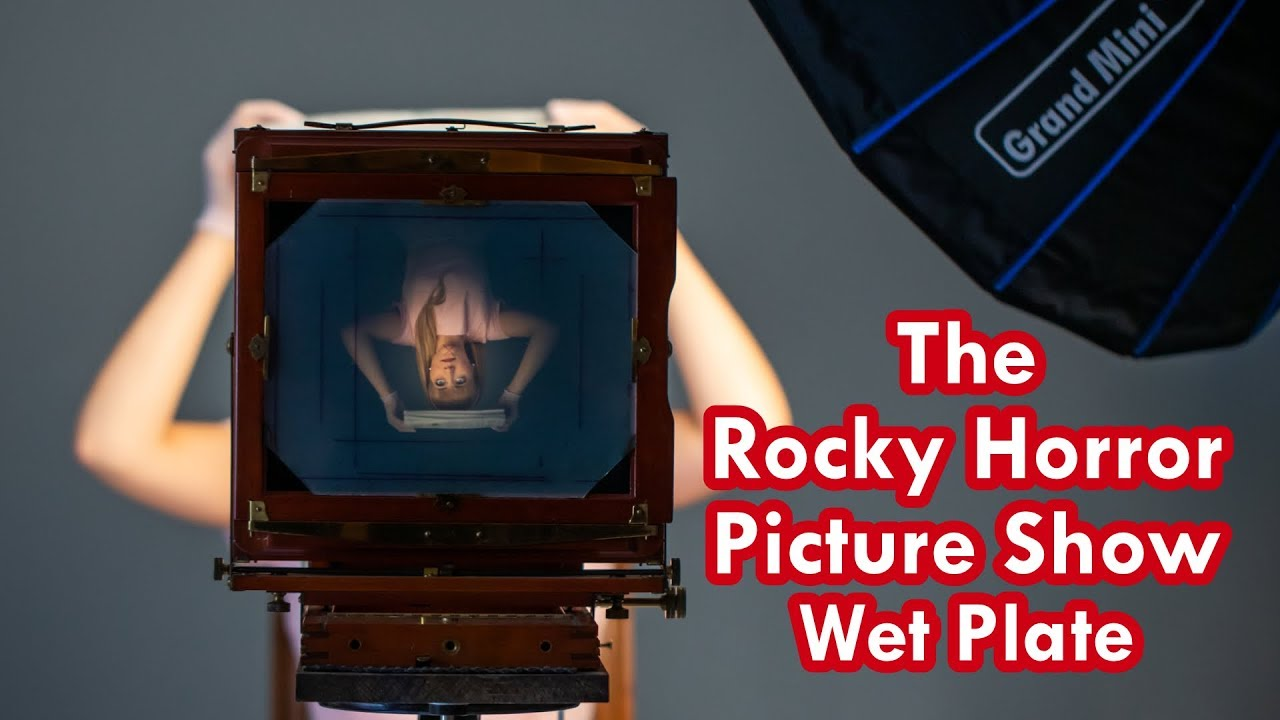 The Rocky Horror Picture Show Wet Plate