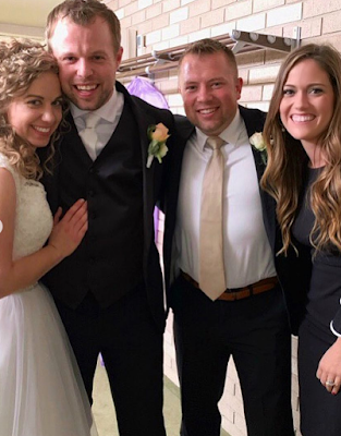 John David Duggar wedding Abbie Burnett