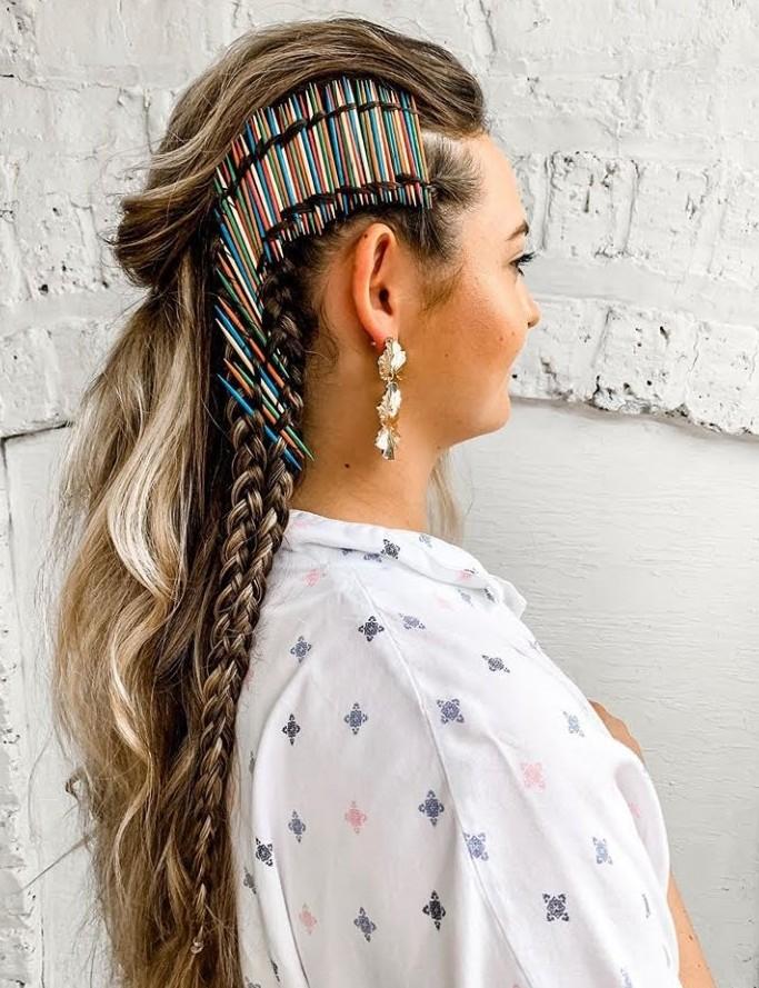 peinados con accesorios pelo fiesta 2020
