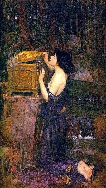 Pandora's Box John William Waterhouse
