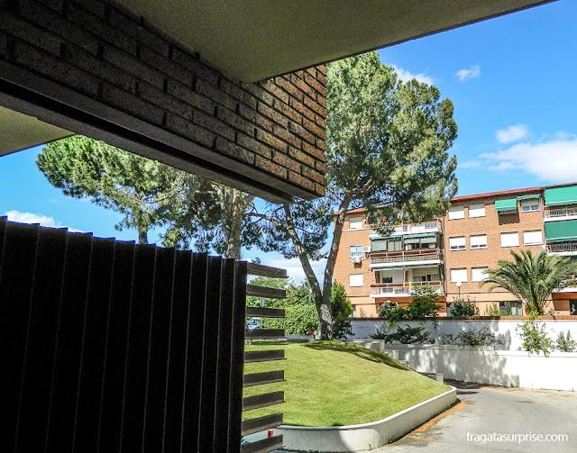 Varanda do apartamento do Tryp Madrid Alameda Aeropuerto Hotel
