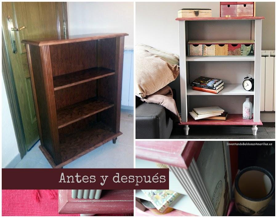 antes y después de un mueble