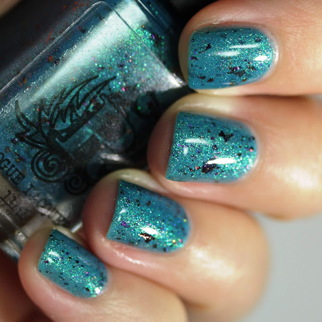 Rogue Lacquer Gone Rogue in Texas swatch by Streets Ahead Style