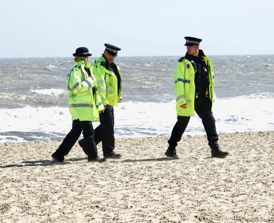Dead body found washed up on beach