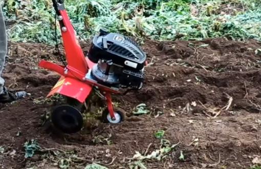 Σκάψιμο κήπου με φρεζάκι Plus 4Hp 139cc τετράχρονο