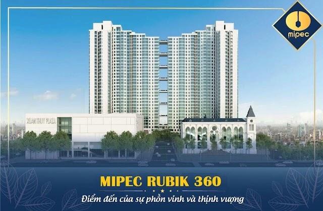 Bảng giá chung cư Mipec Rubik 360 122-124 Xuân Thủy Cầu Giấy Hà Nội - Dự án CĐT Mipec