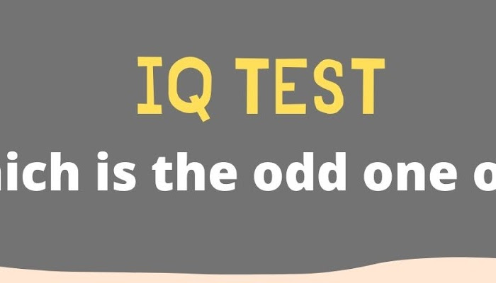 IQ Test - Which is the odd one out?