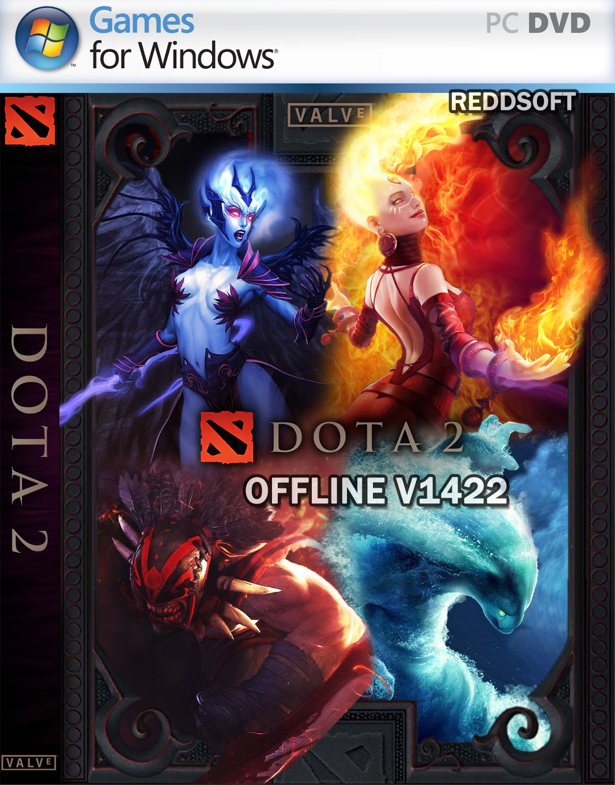 download dota 2 offline v1422 full item updated 2017