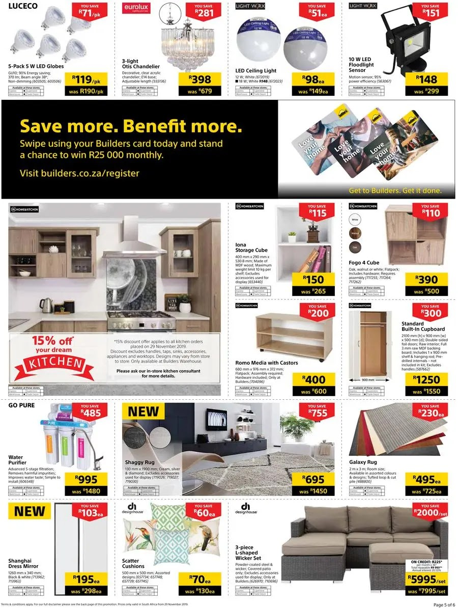 Builders Warehouse Black Friday Deals Page 5