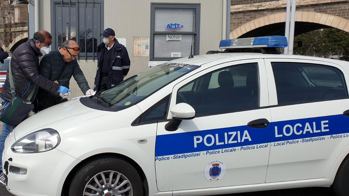 Controlli anti Covid a Catania
