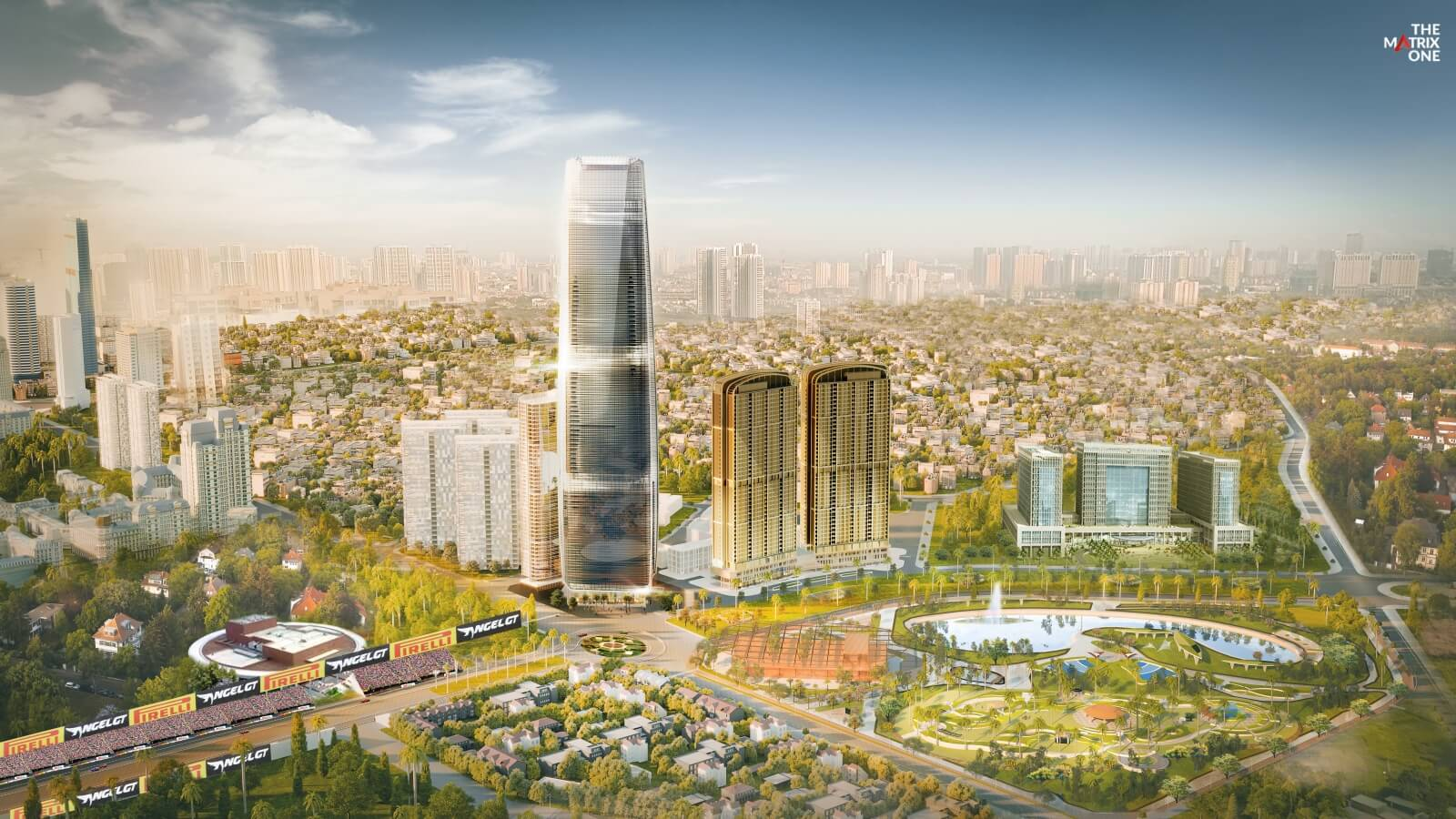 Phối cảnh tổng thể toà tháp cao nhất Hà Nội