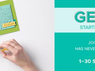 Get & Go Starter Kit Promotion,