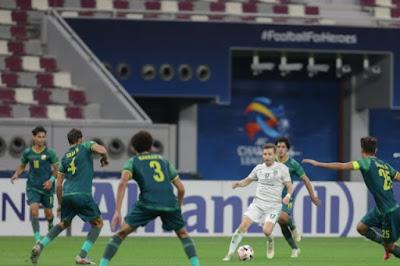 ملخص واهداف مباراة الاهلي والشرطة (1-2) دوري ابطال اسيا