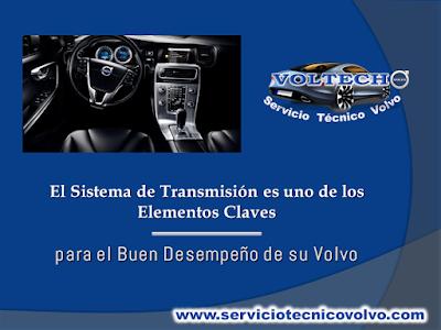 Mantenimiento Sistema de Transmision Volvo