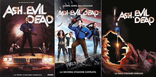 Ash vs Evil Dead: le 3 stagioni in dvd
