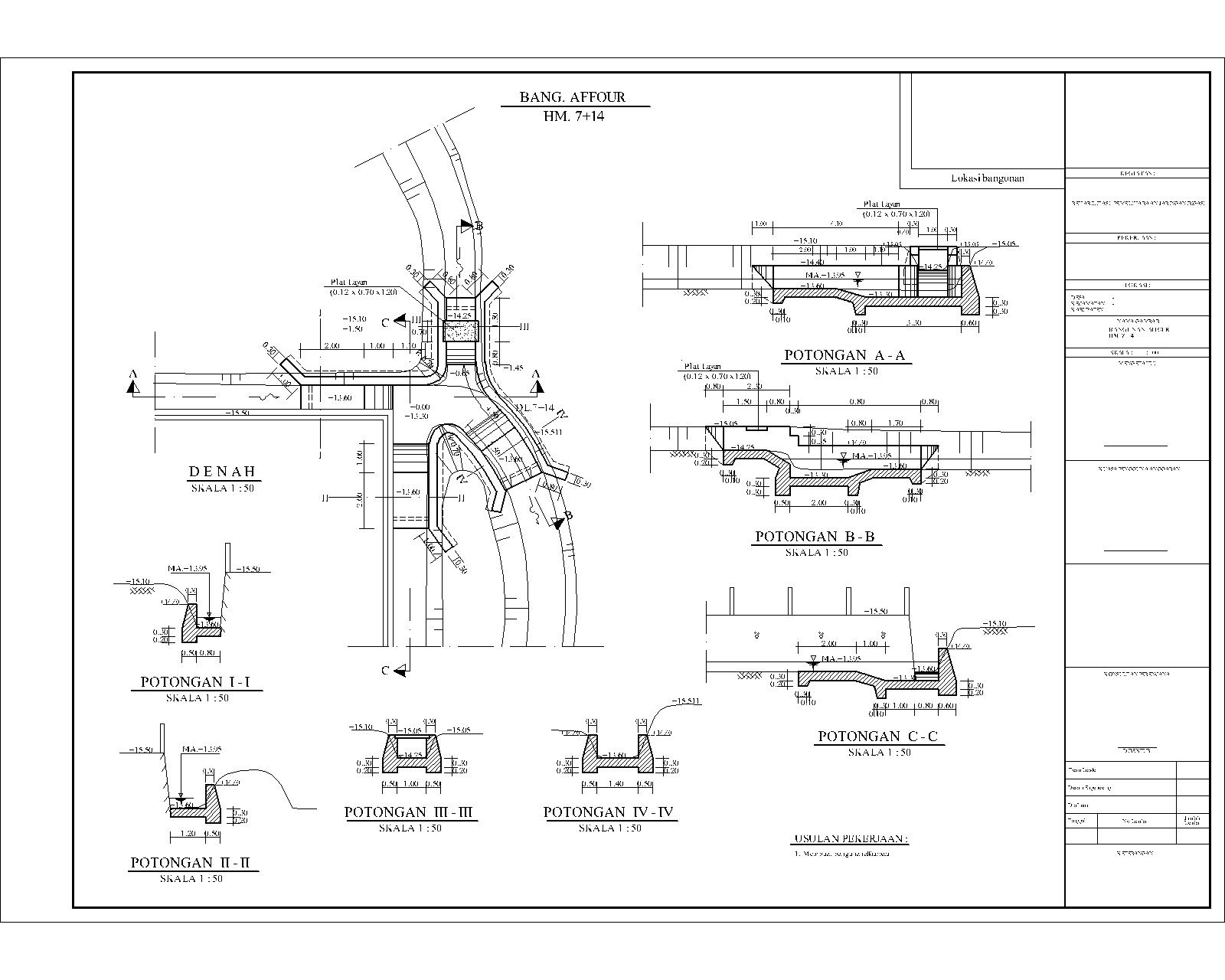 Kumpulan Gambar Sketsa Tanggul Utama Primer