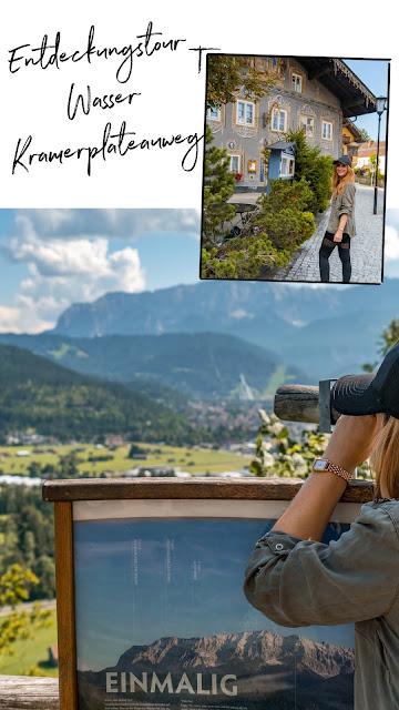 Entdeckungstouren Wasser Loisach - Kramerplateauweg - Ruine Werdenfels – Burgrain  Wandern Garmisch-Partenkirchen 22