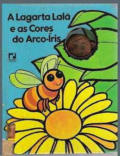 Livro a lagarta Lalá e primavera