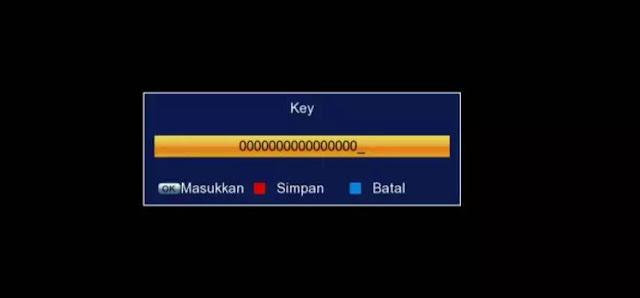 Cara Isi Biss Key Receiver Tanaka