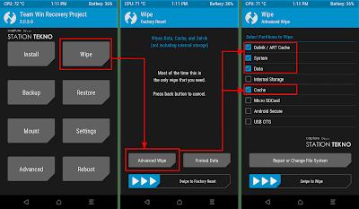 Install LineageOS 14.1 Nougat Xiaomi Mi 4 LTE (Cancro)