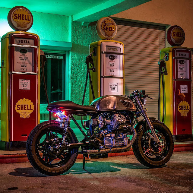 Custom Honda CX Cafe Racer