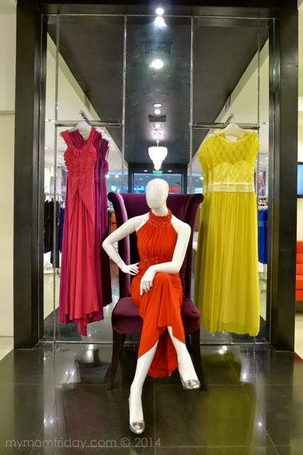 evening gowns department stores