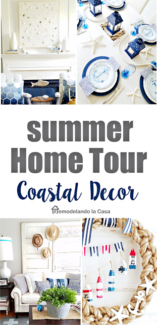 Summer home tour  ideas and decor