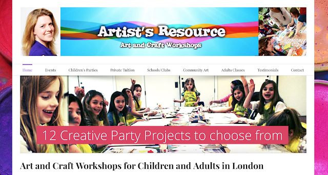 Creative Kids Party with with Leona from Artists Resource