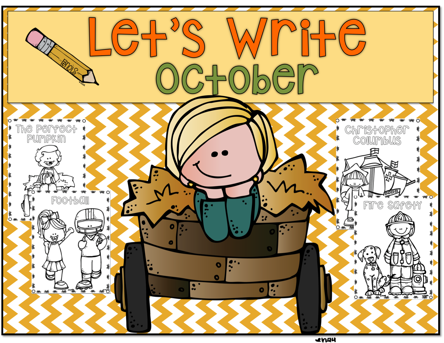 1st Grade Hip Hip Hooray Let S Write October