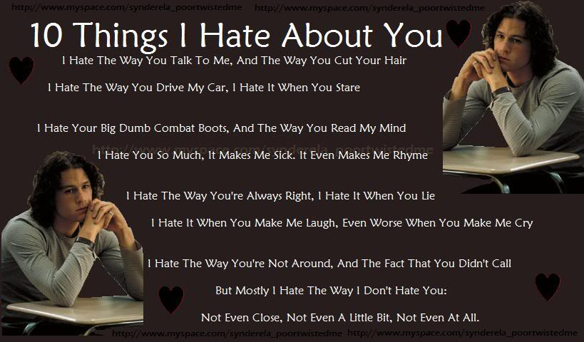 Ten Things I Hate About You: SEXY FASHION: 10 Things I Hate About You