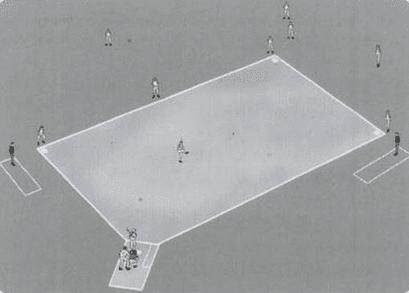 Gambar posisi pemain softball
