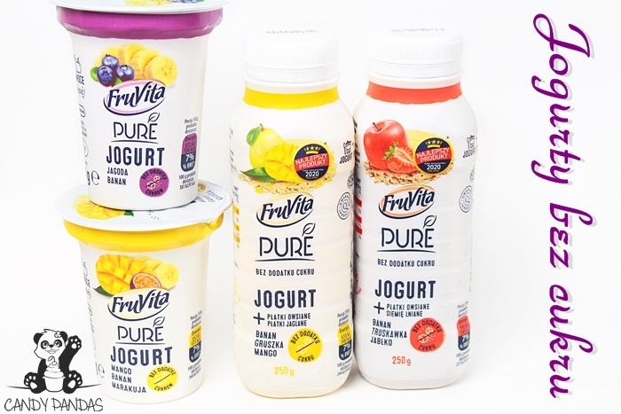 Jogurt FruVita Pure – Biedronka