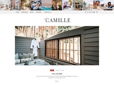 Camille Personal Blogger Theme || Seo friendly blogger theme
