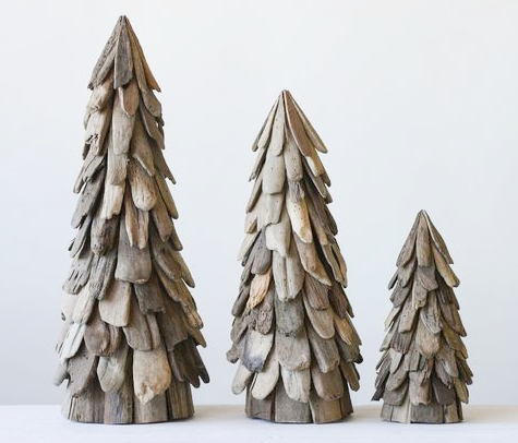 Driftwood Cone Trees