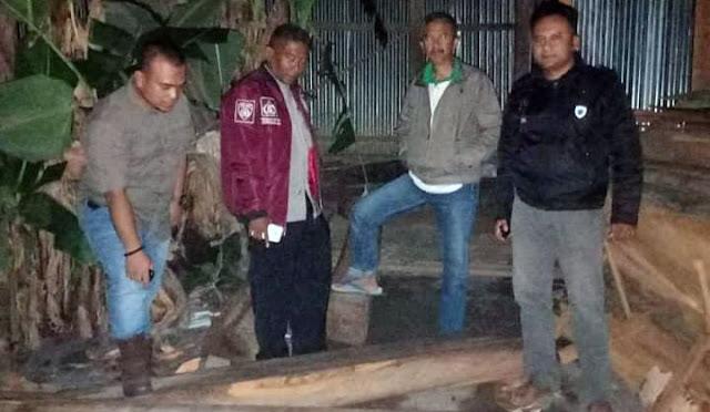 Pencurian kayu yabg digagalkan Perhutani